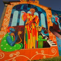 Mural arts program museums attractions with art for Mural tour philadelphia map